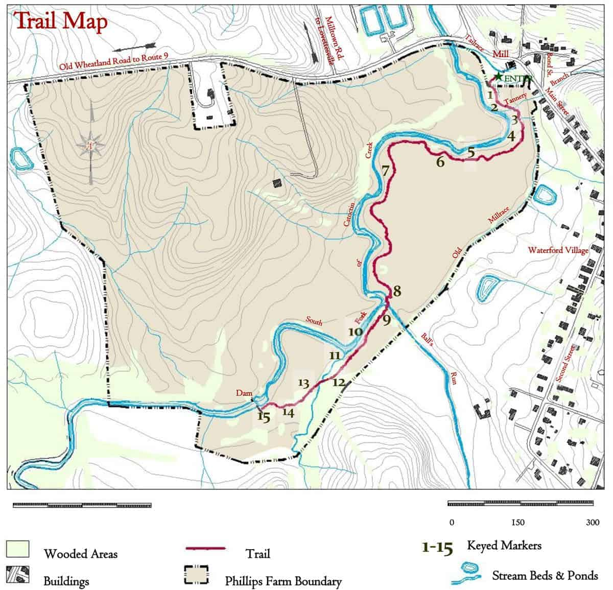 Waterford Trail Map